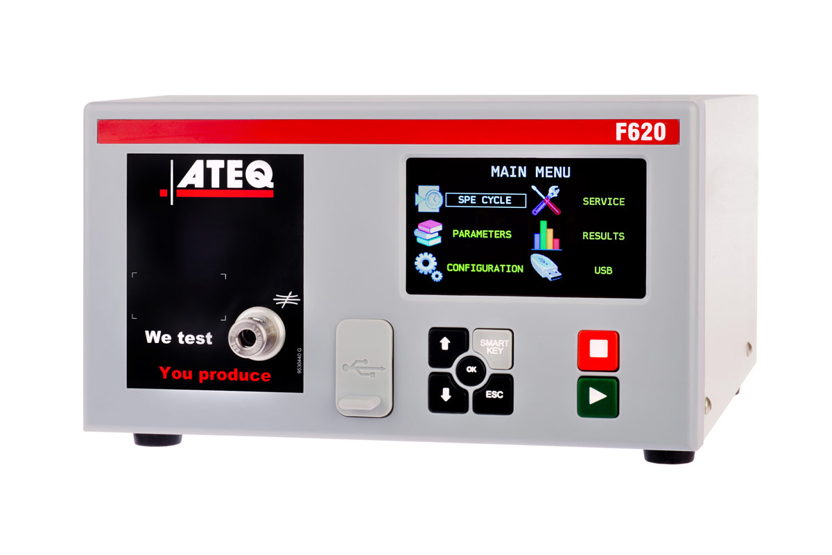 the new leak tester range f620 ateq leaktesting