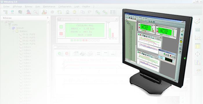 Winateq software illustration