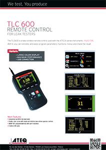 TLC600-REMOTE- ATEQ